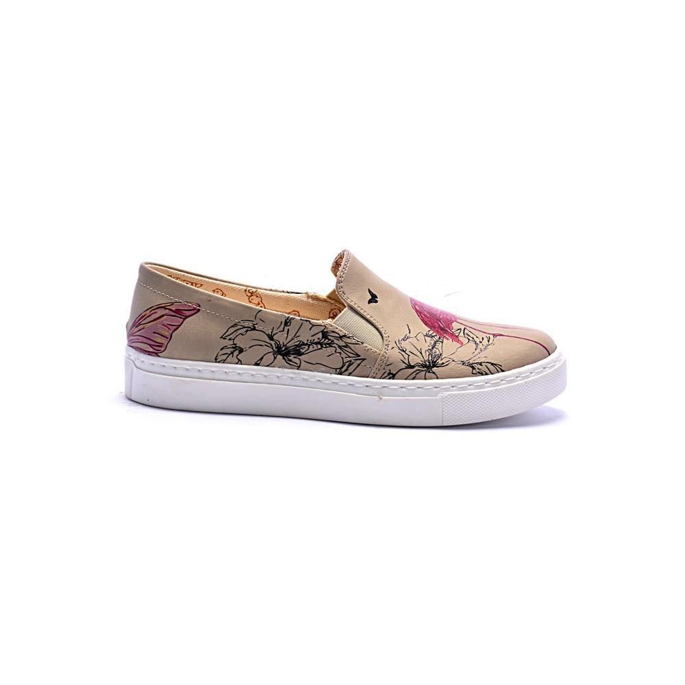 GOBY Flamingo Slip on Sneakers Shoes COC4008