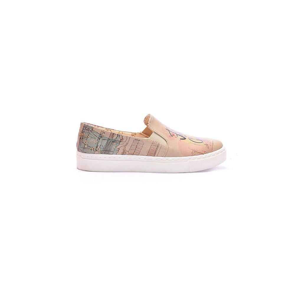 GOBY Fashion Girl Slip on Sneakers Shoes COC4015