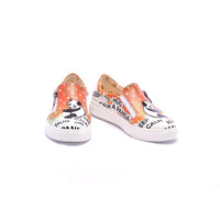 Keep Calm and Hug a Panda Slip on Sneakers Shoes COC4202 (1405800546400)