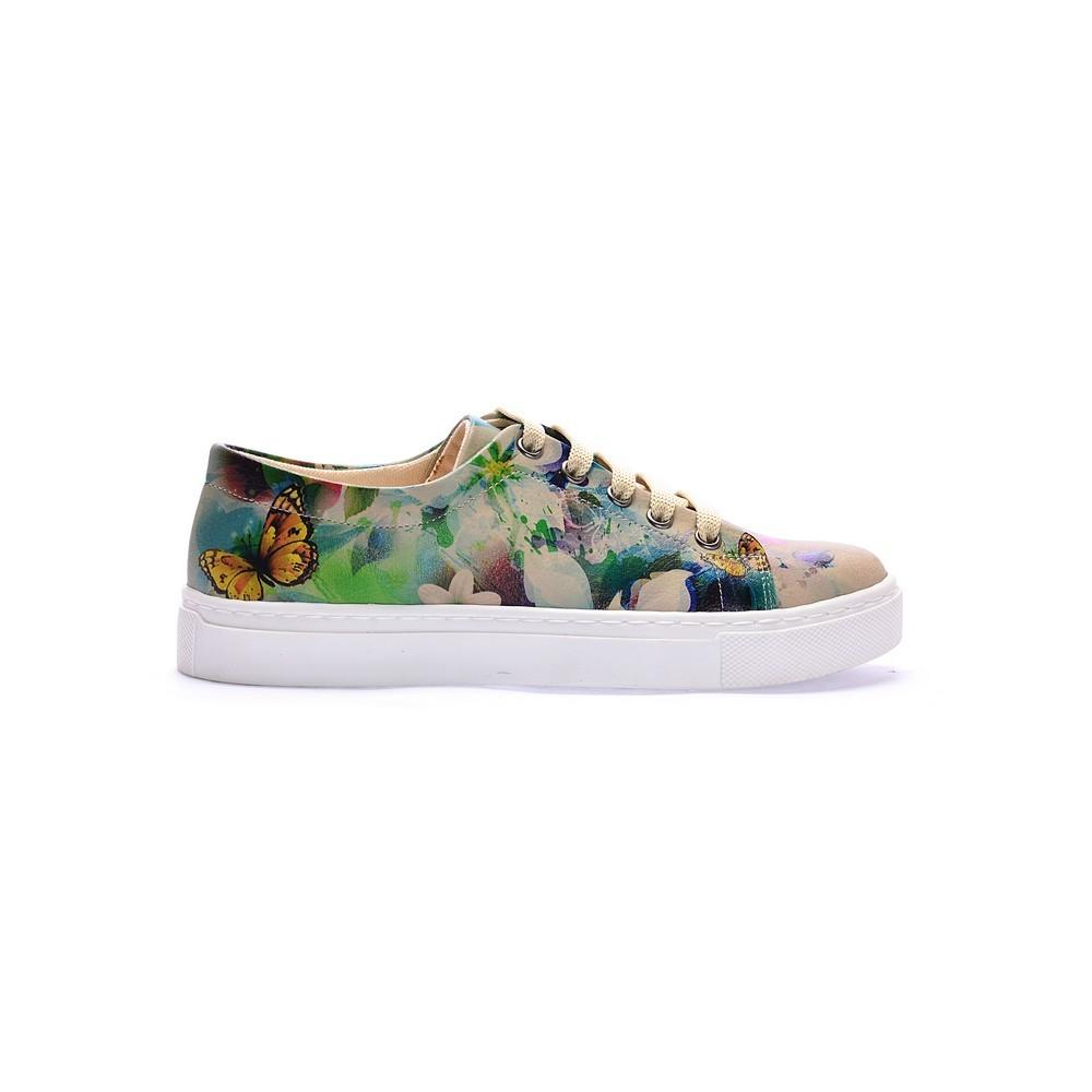 Butterflies Slip on Sneakers Shoes COC5012