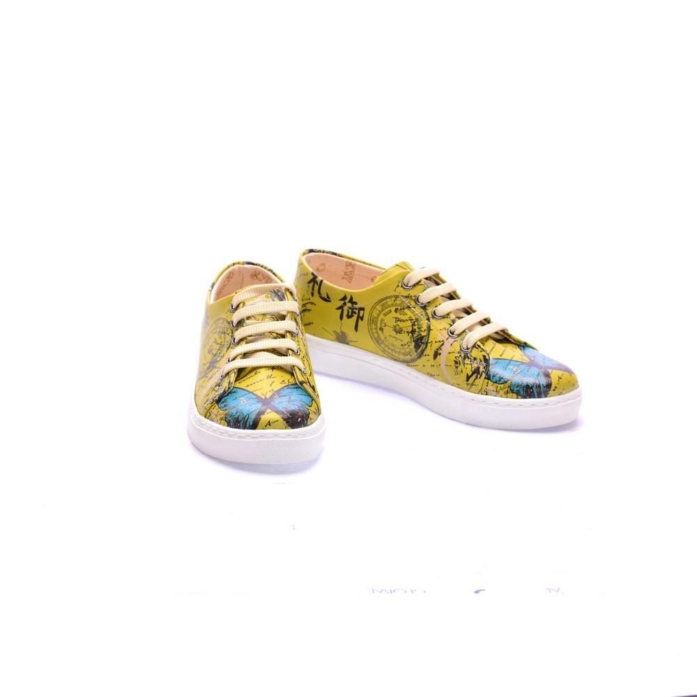 Butterfly Slip on Sneakers Shoes COC5014