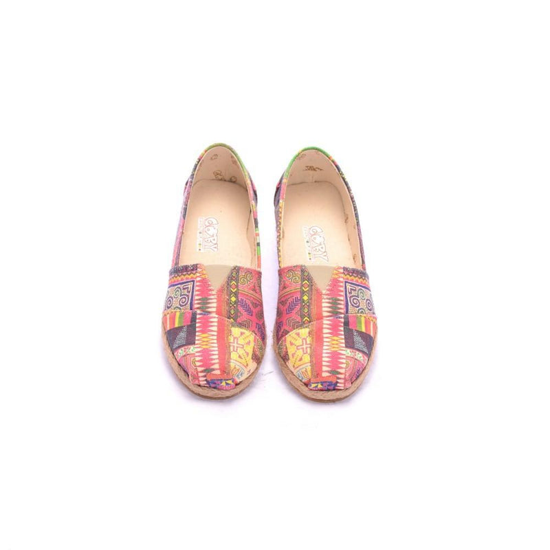 Pattern Shoes Ballerinas Shoes COC6002 (1405801529440)