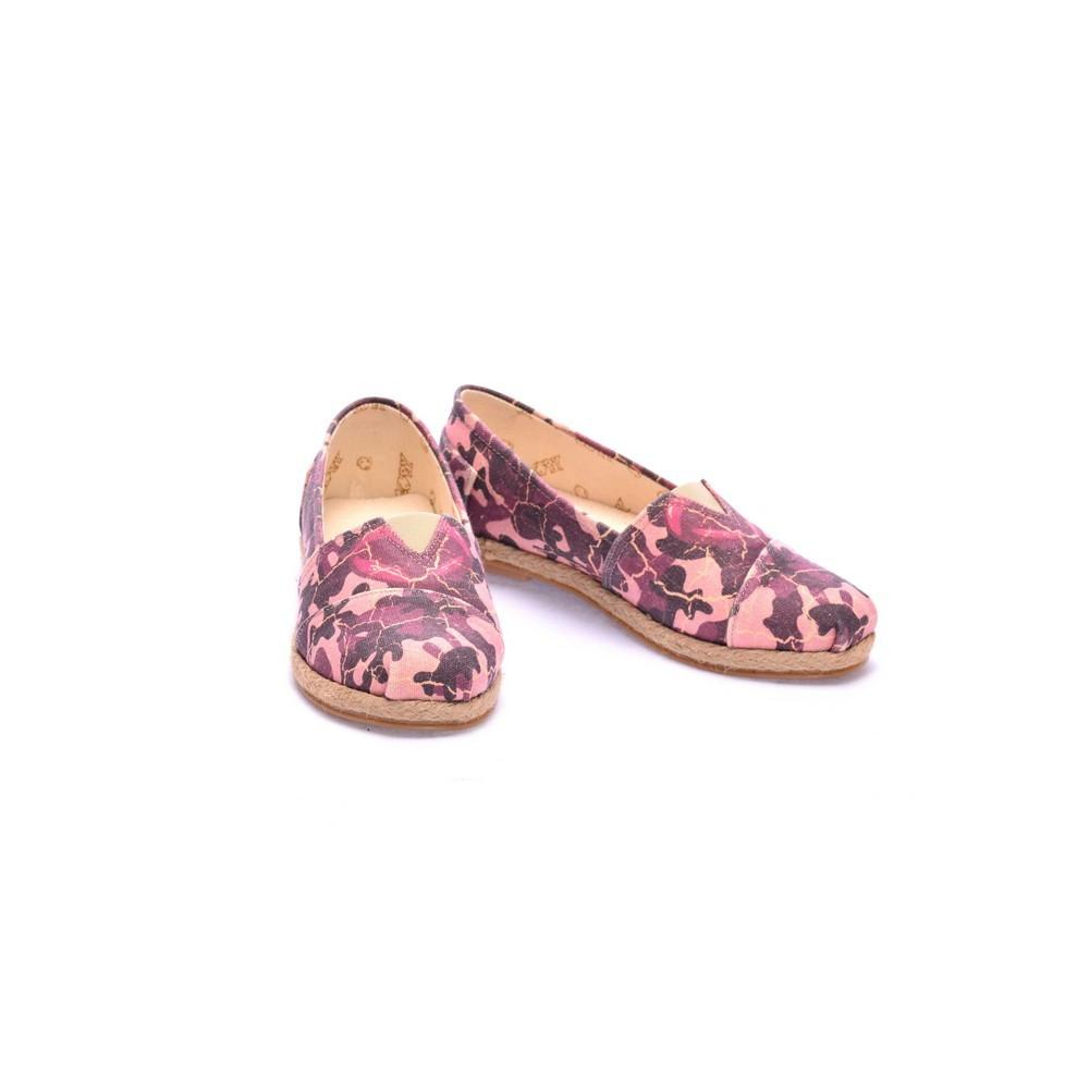 Camouflage Ballerinas Shoes COC6003