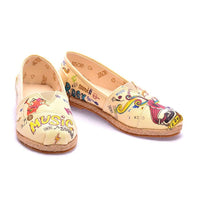 Music Ballerinas Shoes COC6004 (1405801594976)
