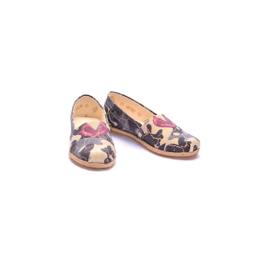 Camouflage Ballerinas Shoes COC6008
