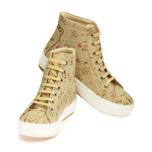 GOBY My Cute Bear Sneaker Boots CW2015