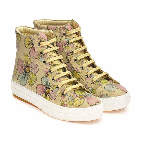 Flowers Sneaker Boots CW2017 - Goby GOBY Sneaker Boots