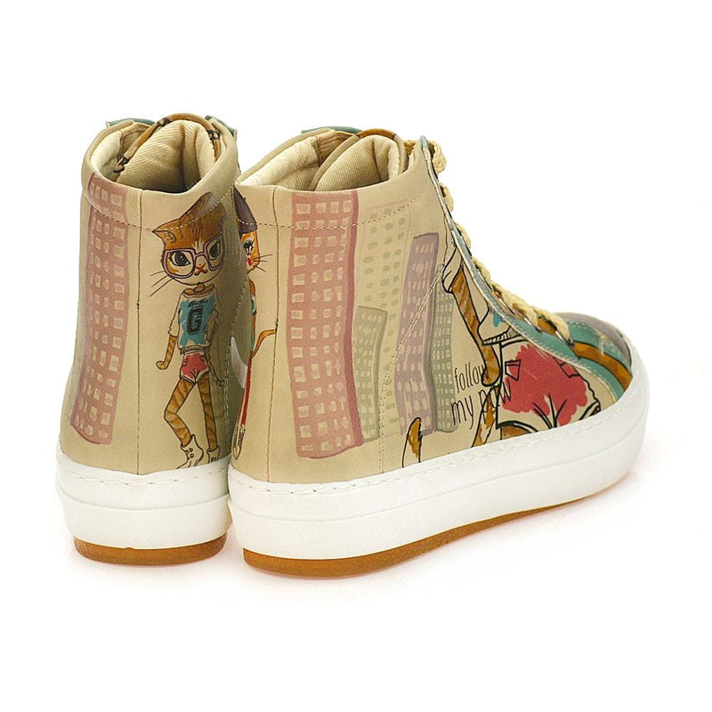 Follow My Paw Sneaker Boots CW2019 (506264649760)