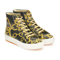Chains Sneaker Boots CW2021 (1405803102304)