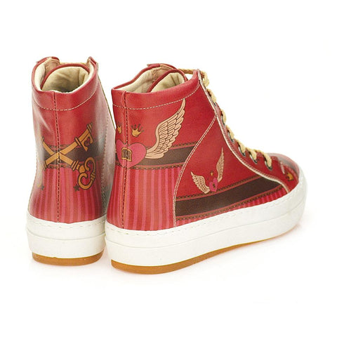 GOBY Angel Winged Heart Sneaker Boots CW2022