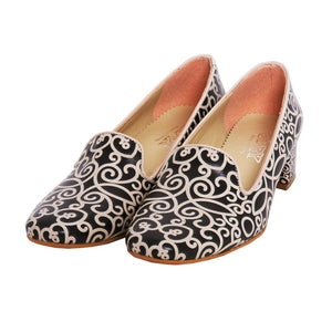 GOBY Pattern Career Heel Shoes DB110