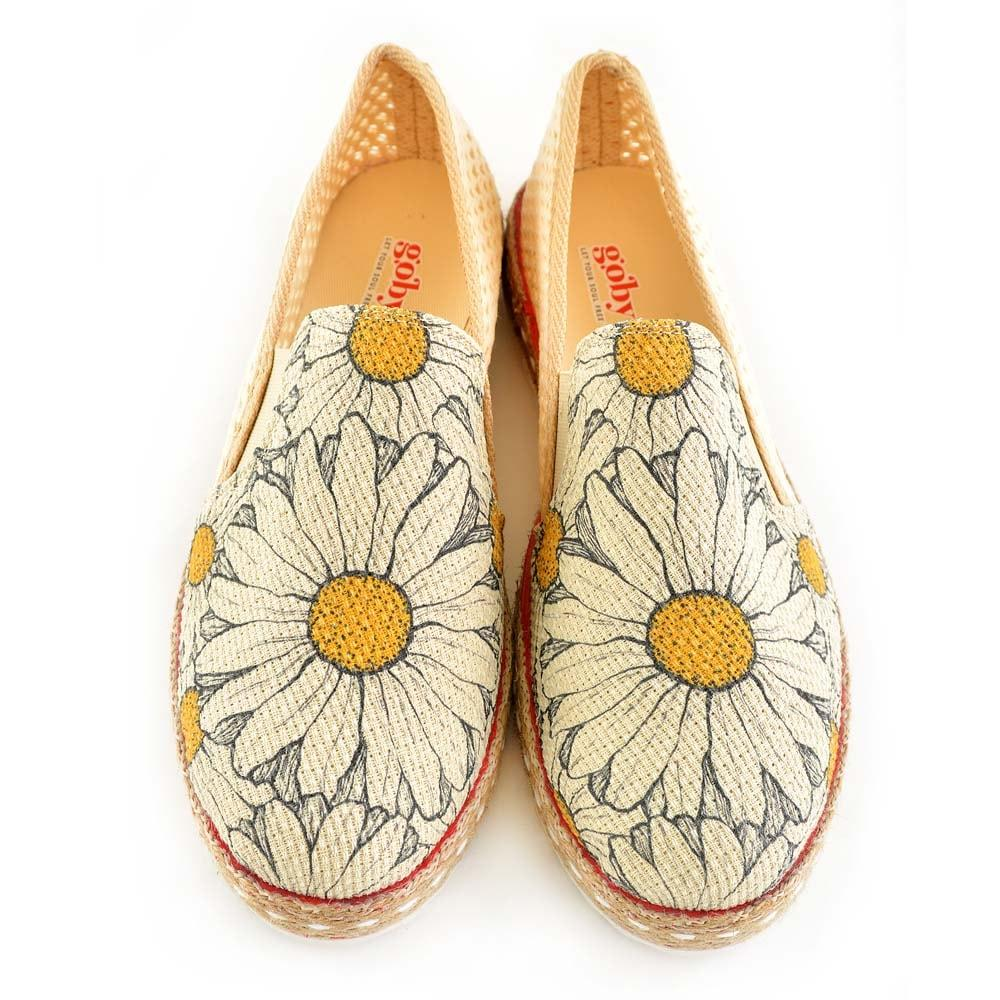 Daisy Slip on Sneakers Shoes DEL101 - Goby GOBY Slip on Sneakers Shoes