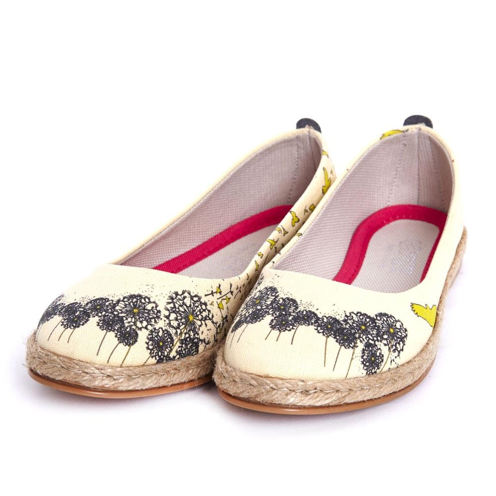 Dandelion Ballerinas Shoes FBR1180 - Goby GOBY Ballerinas Shoes
