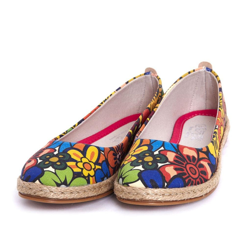 Flowers Ballerinas Shoes FBR1194 (506265600032)