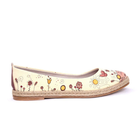Cute Birds Ballerinas Shoes FBR1196 - Goby GOBY Ballerinas Shoes