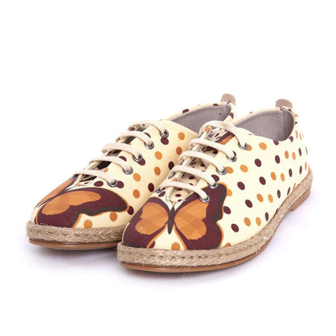 Butterfly and Dots Ballerinas Shoes FBR1217, Goby, GOBY Ballerinas Shoes