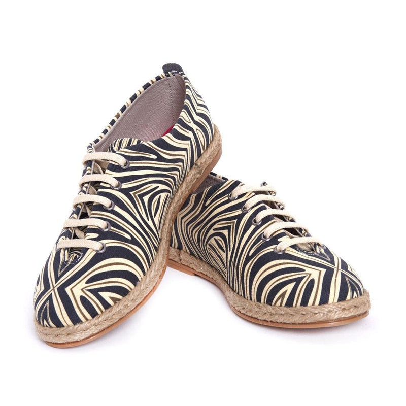 Zebra Style Ballerinas Shoes FBR1222 (506265927712)