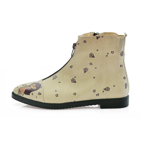 GOBY Sweet Couple Ankle Boots FER109