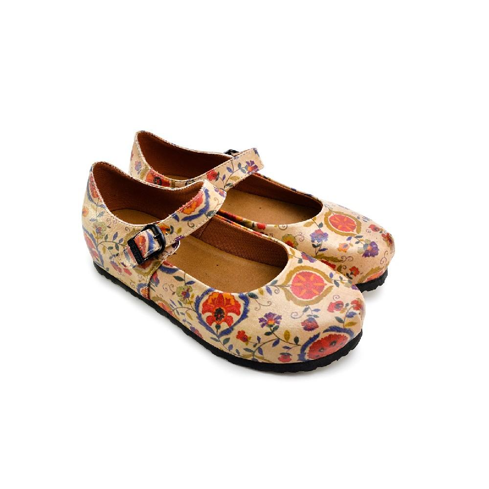 Ballerinas Shoes GBL208 (2236784443488)