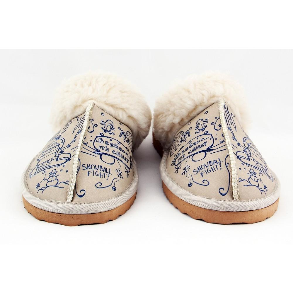 Snowball Fight Shearling Slipper GCT102