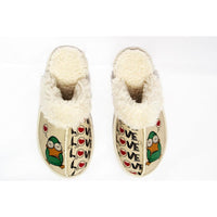 Sweet Duck Shearling Slipper GCT104 (1421164216416)