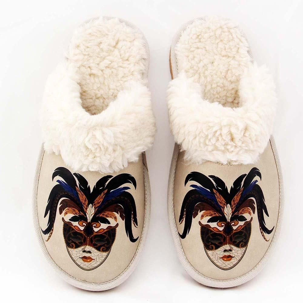GOBY Masquerade Shearling Slipper GDT101