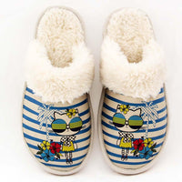 Stylish Cat Shearling Slipper GDT102 (506266157088)