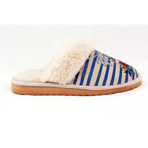 GOBY Stylish Cat Shearling Slipper GDT102