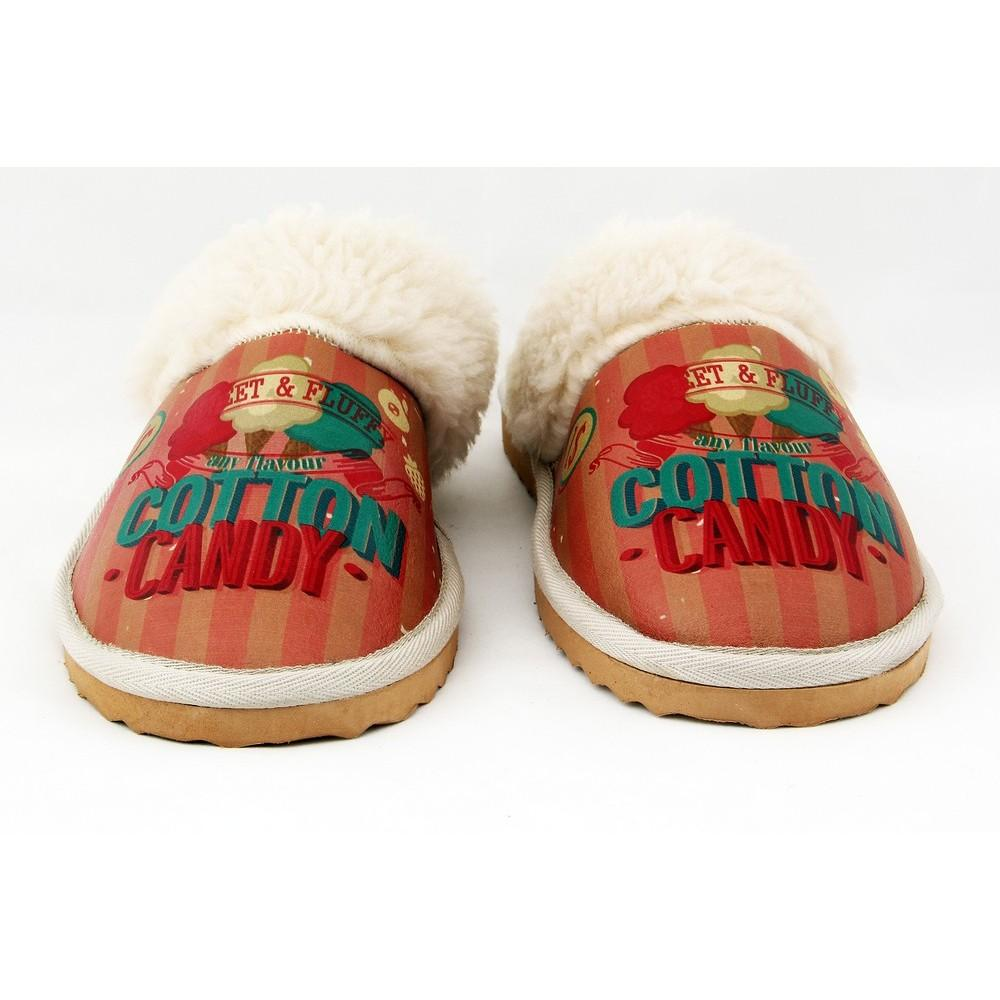 Cotton Candy Shearling Slipper GDT103