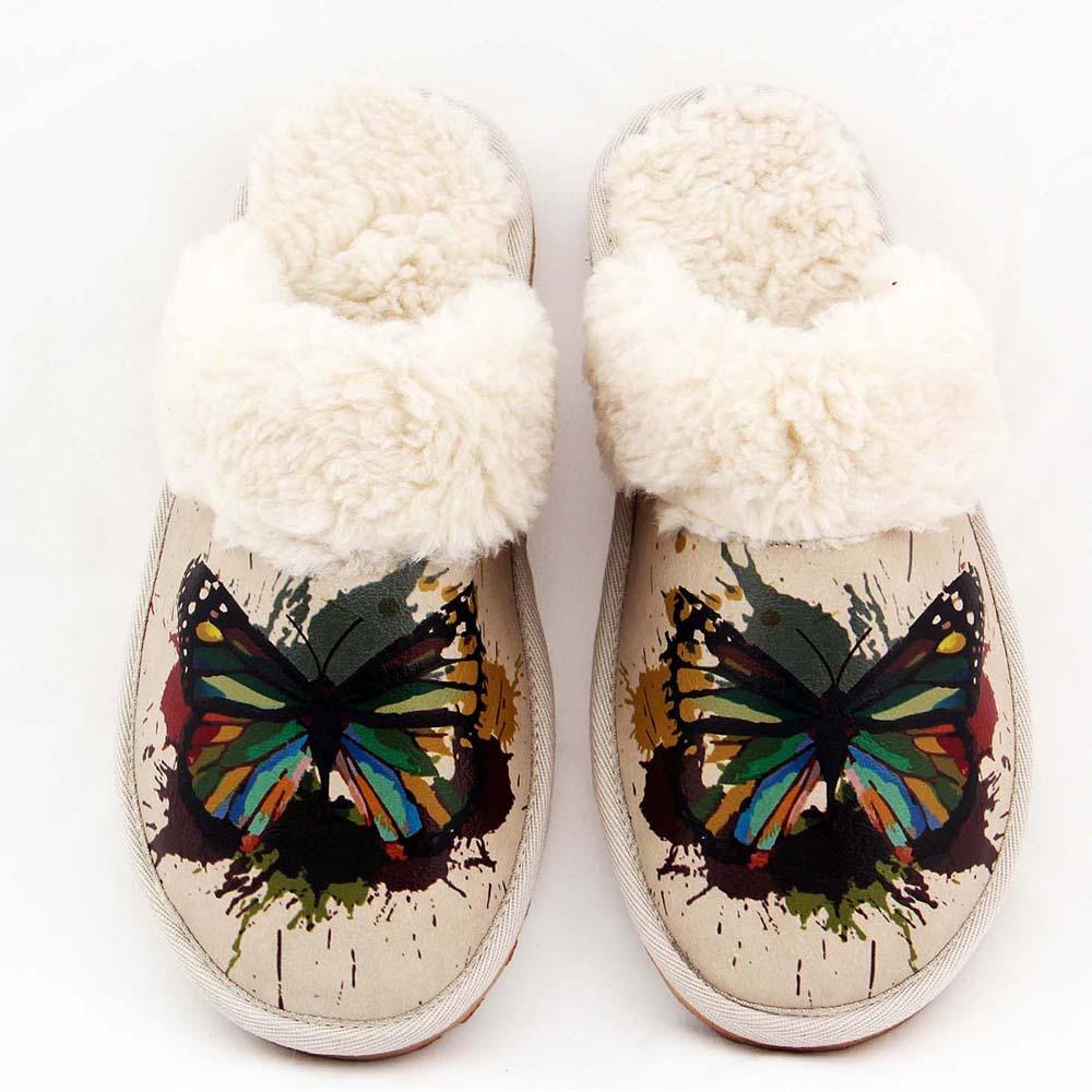GOBY Butterfly Shearling Slipper GDT104
