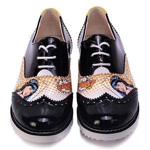Bang Oxford Shoes GNG203, Goby, GOBY Oxford Shoes