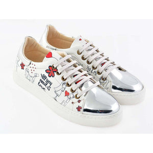 GOBY Bride Groom Slip on Sneakers Shoes GOB205