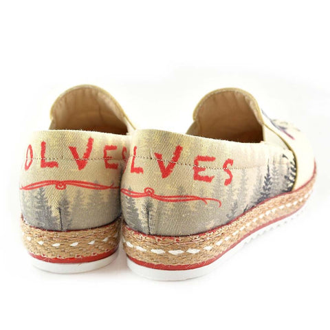 Even Wolves Love Slip on Sneakers Shoes HV1571 - Goby GOBY Slip on Sneakers Shoes
