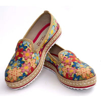 Flowers Slip on Sneakers Shoes HVD1455