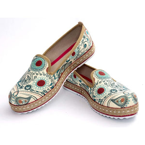 Pattern Slip on Sneakers Shoes HVD1459