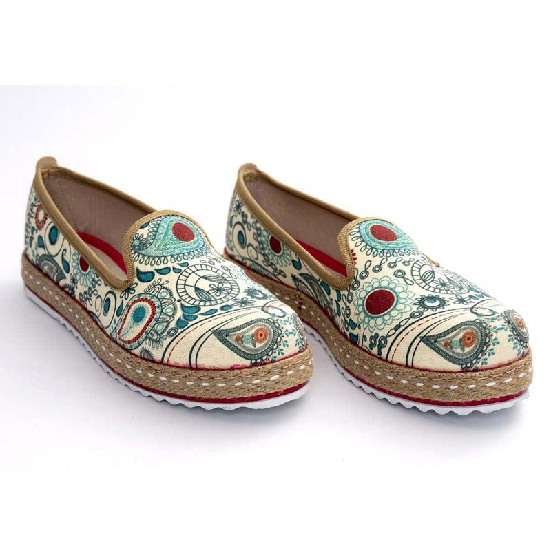 Pattern Slip on Sneakers Shoes HVD1459 (506267992096)