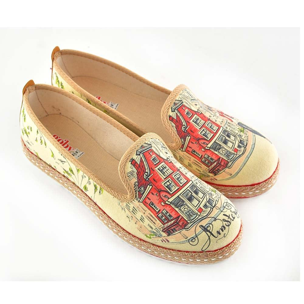 Amsterdam Slip on Sneakers Shoes HVD1465