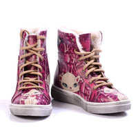 Sweet Cat Short Boots JAS109