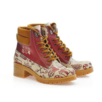 New Year Short Boots KAT101 (1421182402656)