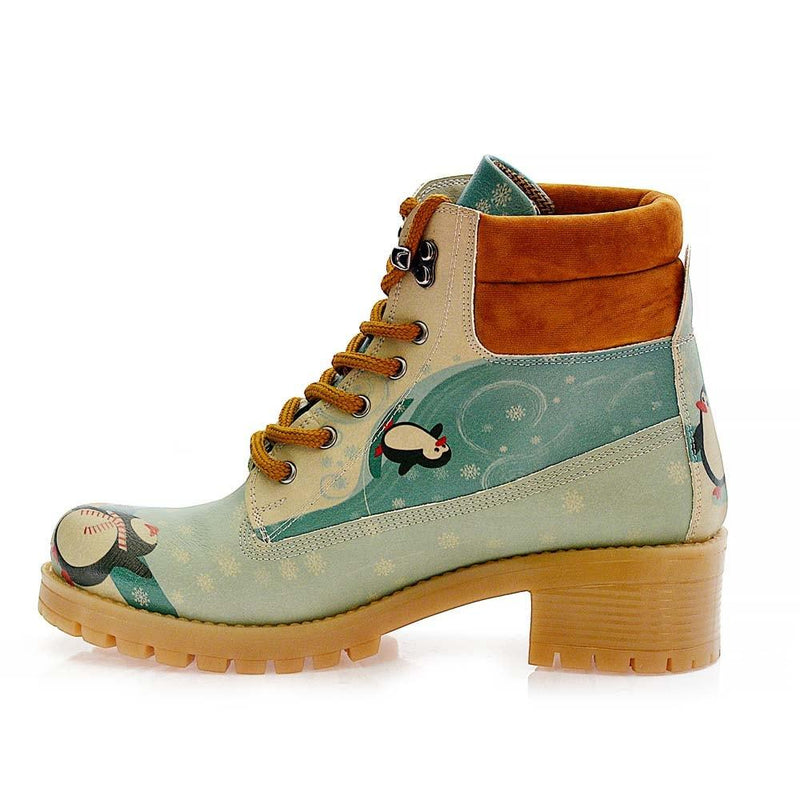 Happy Penguins Short Boots KAT102 (506268352544)