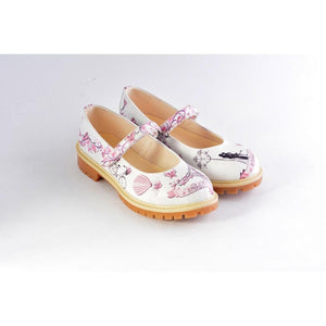 GOBY Love in Paris Ballerinas Shoes KTB106