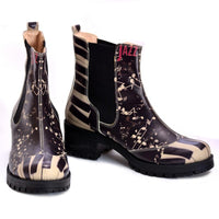 Jazz Short Boots LAS107 (1421187907680)