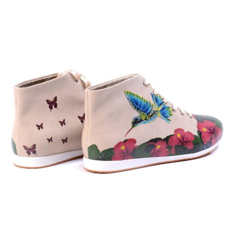 Flowers Short Boots LND1133 (506268844064)