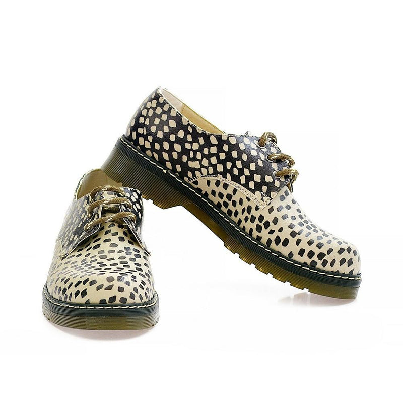Leopard Oxford Shoes MAX102 (1421195149408)