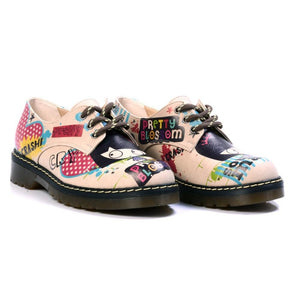 Pretty Blossom Oxford Shoes MAX105