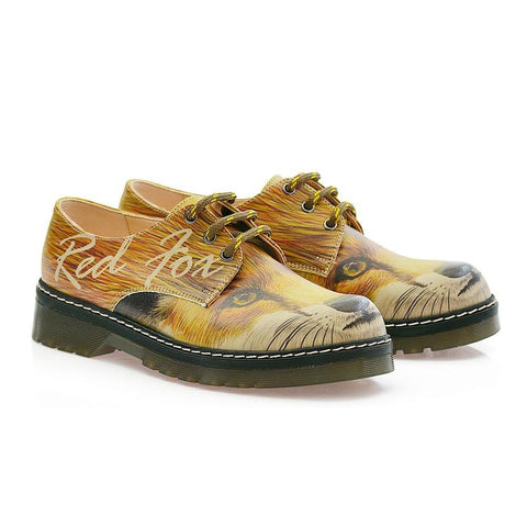 GOBY Red Fox Oxford Shoes MAX113