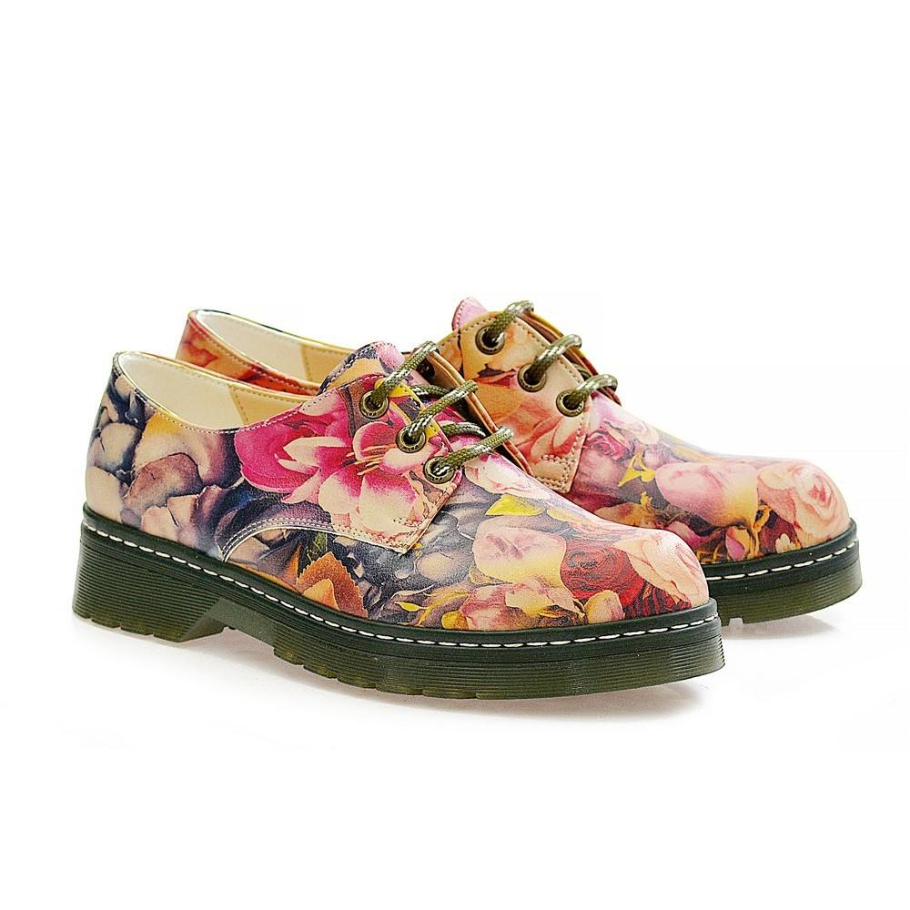 GOBY Roses Oxford Shoes MAX115
