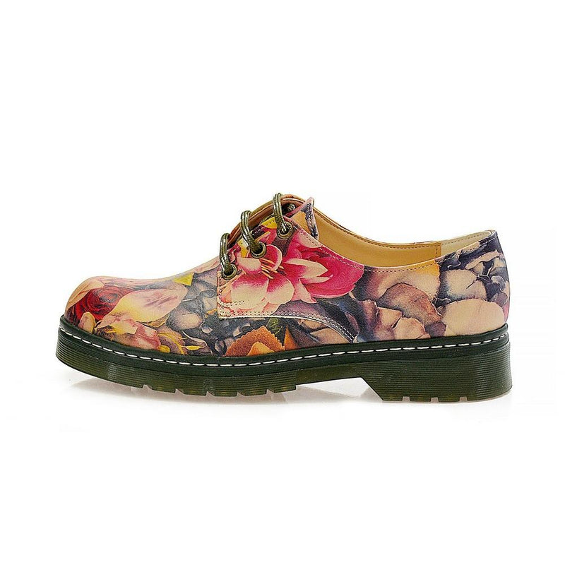 Roses Oxford Shoes MAX115 (1421196787808)