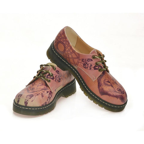 GOBY Wolf Look Oxford Shoes MAX120
