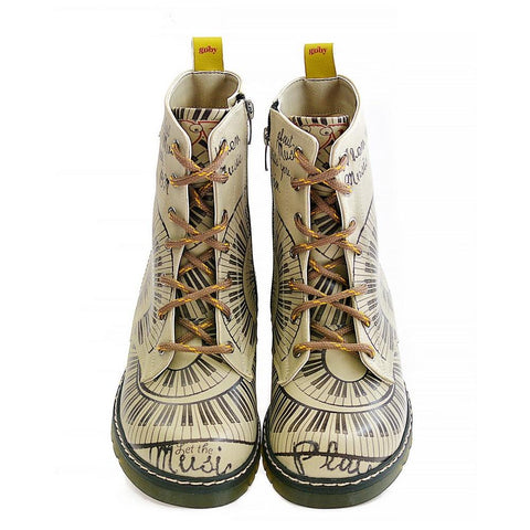 GOBY Music Speaks Long Boots MRT115